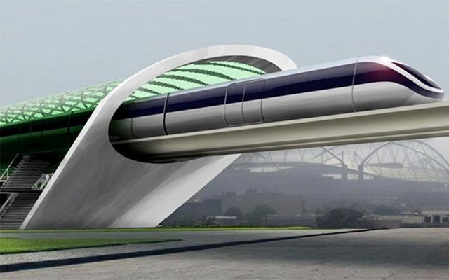 """时速达1000公里每小时 上海至杭州或将建""""超级高铁"""""""
