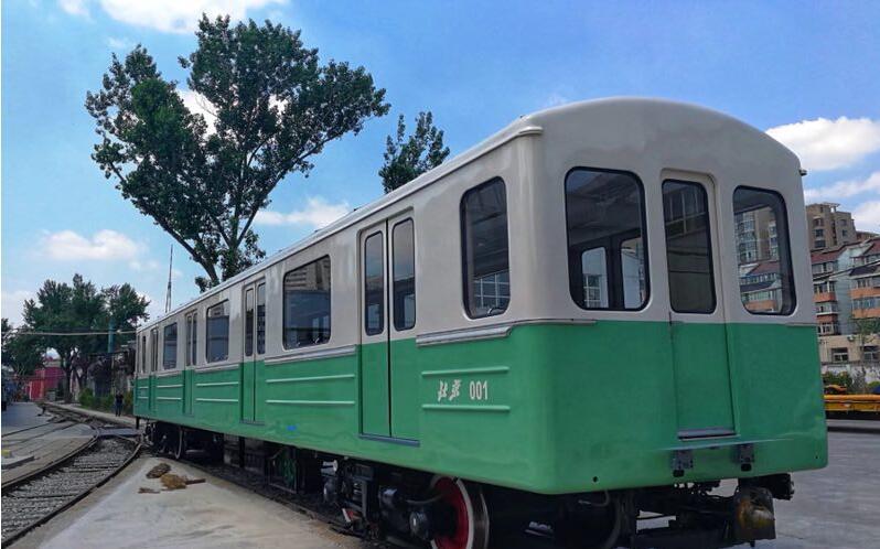 中国第一列地铁列车将亮相北京国际城市轨道交通展览会