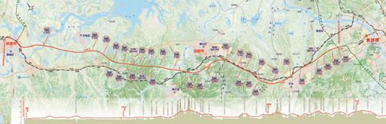 湖南常益长高铁初步方案通过评审