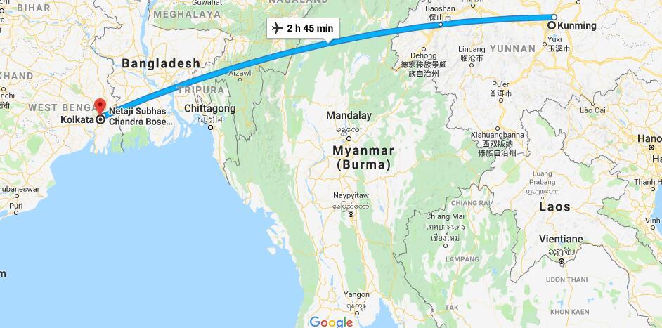 昆明到印度加尔各答建高铁?驻加尔各答总领事回应