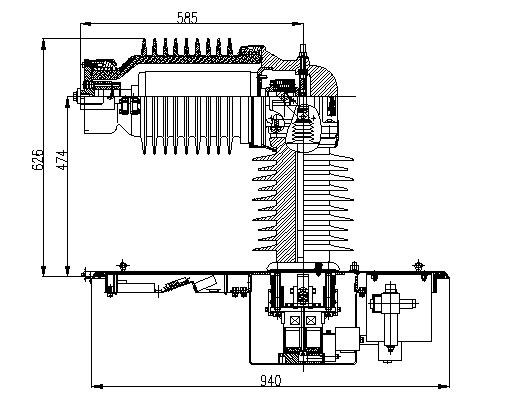 BVAC.N99D真空断路器