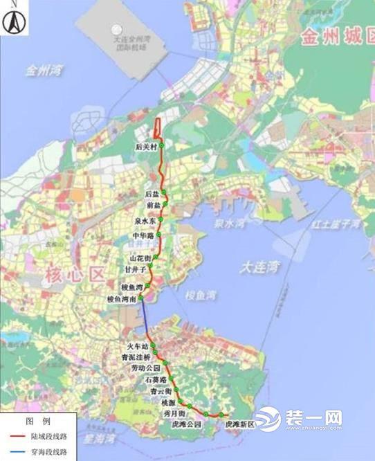 大连地铁5号线今年将实现4座车站封顶