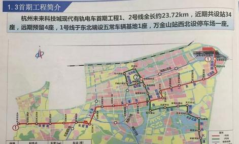 杭州再添有轨电车项目 线网规划及近期建设规划方案设计启动招标
